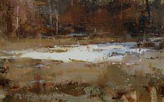 Autumn's Touch by Tibor Nagy Oil ~ 10 x 16