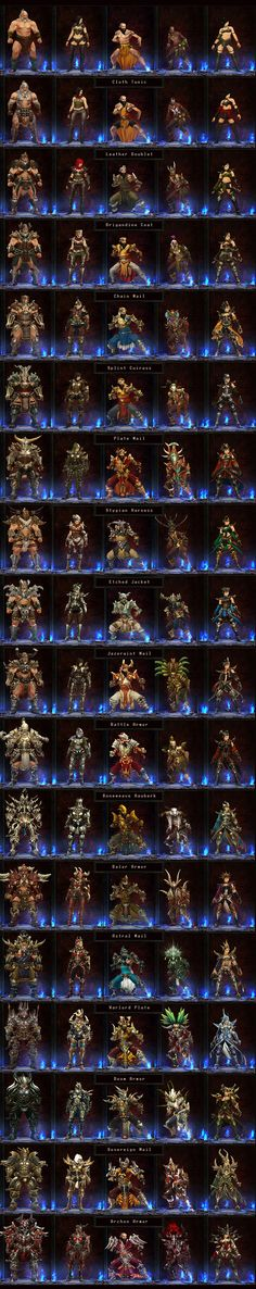 Full list of base Amor sets, with pics! - Diablo III General Discussion - Diablo III General Forums - Forums - Diablo Fans