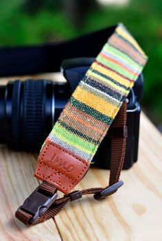 I'm so digging this camera strap $26 from Etsy shop iMo http://www.producttestinglab.com/