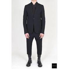 Le mighty suit! #rickowens #ss17 #walrus Soft Cropped Suit @ sevenhelsinki.com