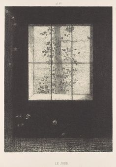 la-journee: Odilon Redon (French, 1840–1916) Day: From the series Dreams, 1891 Lithograph