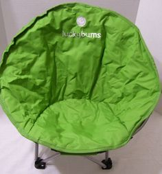 Camping Lucky Bums Moon Chair Youth Small Beach Picnic Sports Backyard Outdoors…