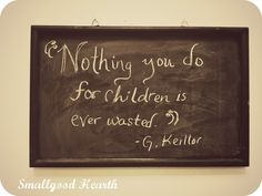 chalkboard quotes | Smallgood Hearth: Beautifying the office: Chalkboards
