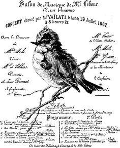"Vintage wristlet ""bird"""