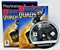 PLAYSTION 2 X-TREME QUADS GAME GAMING COMPUTER PS1 PS2 PS3 PERFECT DISC UNUSED