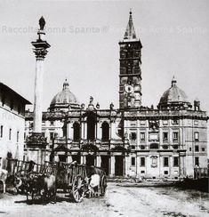 Roma Sparita. Foto storiche di Roma - Santa Maria Maggiore 1865
