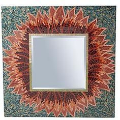 Mirrror from Pier One Imports.