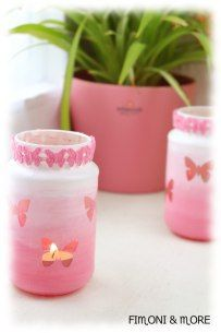 Diy Upcycling, Planter Pots, Give Me Butterflies, Upcycling Ideas, Christmas Decor, Corning Glass, Gifts, Craft, Plant Pots
