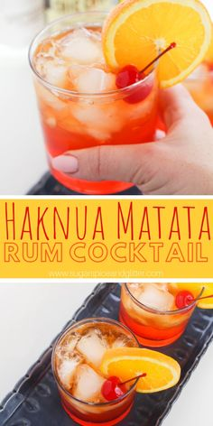 You'll have no worries after a couple of these Hakuna Matata rum cocktails - a fun Disney inspired cocktail recipe Drinks Hakuna Matata Cocktail ⋆ Sugar, Spice and Glitter Rum Cocktails, Disney Cocktails, Rum Cocktail Recipes, Alcohol Drink Recipes, Cocktail Drinks, Disney Mixed Drinks, Good Mixed Drinks, Disney Alcoholic Drinks, Mixed Drink Recipes