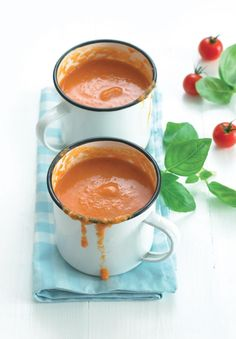 Tomato Soup - The Happy Foodie