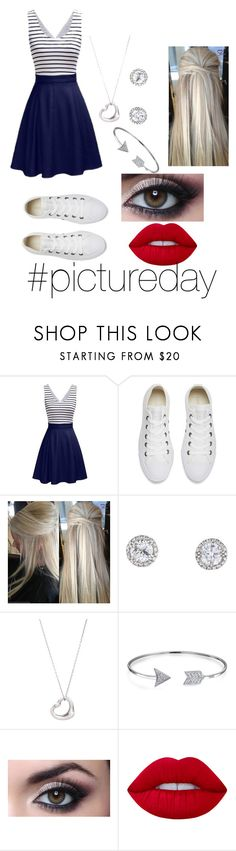 """""""#pictureday"""" by colleen-culp on Polyvore featuring Converse, Tiffany & Co., Bling Jewelry and Lime Crime"""