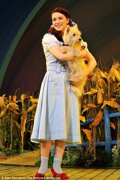 Off to see the wizard: Over The Rainbow winner Danielle Hope makes Dorothy debut with Michael Crawford Fairy Makeup, Mermaid Makeup, Makeup Art, Fantasy Hair, Fantasy Makeup, Musical Tickets, Wizard Of Oz Musical, Wizard Oz, Wizard Of Oz