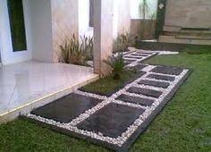 Resultado de imagen para como decorar jardines con piedras