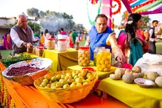 Colorful mehendi sangeet wedding photography Ahmedabad Indian Wedding Food, Indian Wedding Planner, Indian Wedding Ceremony, Indian Weddings, Wedding Venues, Mehndi Ceremony, Haldi Ceremony, Mehndi Decor, Mehendi
