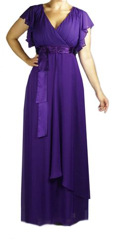Plus Size Pant Suits for Special Occasions purple | Home :: Plus Size DRESSES :: Angelina Purple plus size Formal Evening ...