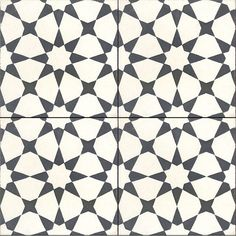Our Agadir White pattern is now in stock. #cementtileshop #cementtiles…
