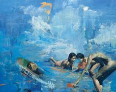 "Saatchi Art Artist Julien Spianti; Painting, ""Preparation"" #art"