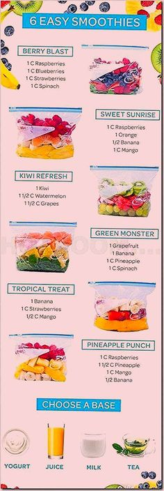 These Smoothie Recipes are perfect for healthy weight loss goals! These Smoothie Recipes are perfect for healthy weight loss goals! The post These Smoothie Recipes are perfect for healthy weight loss goals! & Smoothie appeared first on Healthy recipes . Healthy Snacks, Stay Healthy, Healthy Juices, Healthy Breakfasts, Quick Healthy Food, Being Healthy, Healthy Diet For Kids, Healthy Frozen Meals, Healthy Cafe