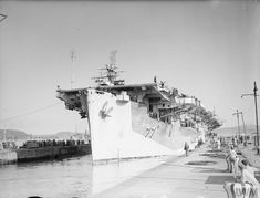 HMS Nabob (D77) was a Ruler-class escort aircraft carrier which served in the Royal Navy during 1943 and 1944. Torpedoes in August 1944, she survived but was written off as a constructive loss. #HMSNabob #Nabob #aircraftcarrier #escortcarrier #royalNavy