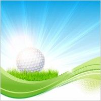 Golf flow background - vector downloads