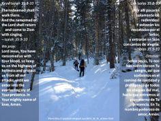 He will guide you  +  Él te guiará  +  http://www.biblegateway.com/passage/?search=Isaiah%2035:8-10