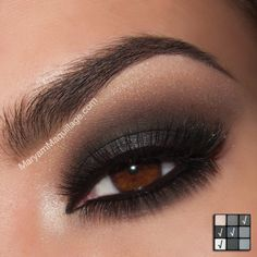 Blackout Smokey Eye.  By:  www.MaryamMaquillage.com Using NYX Cosmetics Smokey Look Palette :))