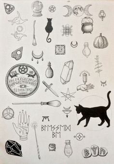 Black cat tattoo design ideas 41 halloween tattoos Black Cat Tattoo Design Ideas - We Otomotive Info Future Tattoos, New Tattoos, Body Art Tattoos, Small Tattoos, Cool Tattoos, Awesome Tattoos, Flash Tattoos, Tatoos, Print Tattoos