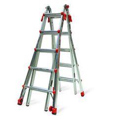Little Giant Ladders 22-Ft Aluminum 300-Lb Telescoping Type Ia Multi-P