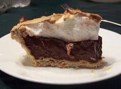 Mom's Old Fashioned Chocolate Pie Recipe