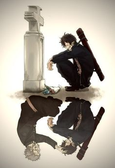 (Anime: Ao No Exorcist/Blue Exorcist) Right. (Anime: Ao No Exorcist / Blue Exorcist) (-passing does not mean you forget things it just means you have to accept what happened and continue to live-) I Love Anime, Awesome Anime, All Anime, Manga Anime, Anime Art, Manga Boy, Anime Stuff, Anime Girls, Rin Okumura