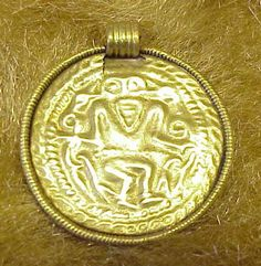 Gold - Riseley Cemetery, Horton Kirby, Kent (Dartford Museum, C5th-7th)