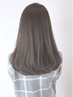 Image result for korean mid length curly end hairstyle hazel brown