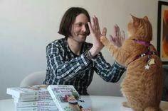Streetcat Bob and James Bowen