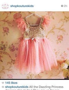 The dresses the girls will wear for our guns or glitter pregnancy announcement session :)