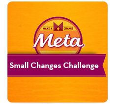 I started the 30-Day #SmallChanges Challenge today at @SparkPeople! Wish me luck!