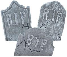Crooked Tombstone Set - 349158