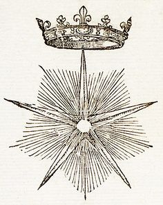 Crowned Star, by Claude Paradin, 1557