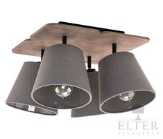 Borough Wharf The modern Bowers ceiling light made of brown plywood and fabric is a good lighting option for the living room, bedroom or the hallway. Ceiling Spotlights, Flush Ceiling Lights, Flush Mount Ceiling, Sloped Ceiling, Wall Lights, Led T8, Led Solar, Retro Lampe, Led Spots