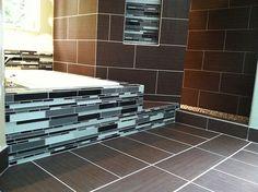 Bellevue Bathroom remodel and design by Creative By Design Remodels.
