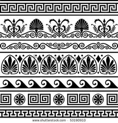 Set Of White Lace Borders With Shadow, Ornamental Paper Lines, Vector Eps10 - 174514766 : Shutterstock