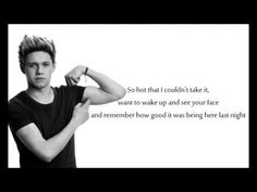 Niall's part in the song HOME <3