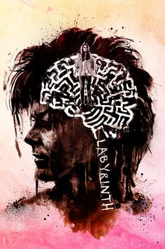 Labyrinth - a sister piece to one created last year…gotta a lot of love for this film!