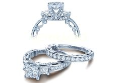 MY FAVORITE!!! PARADISO-3064P engagement ring from The Paradiso Collection of diamond engagement rings by Verragio