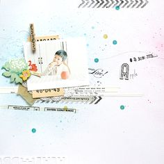 Layout for Esprit Scrapbooking 33