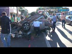 Noticias no Blog: Carro capota na Avenida Brasil