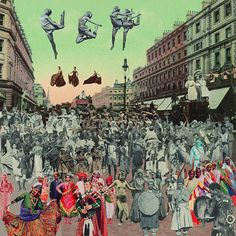 collages by Sgt. Pepper's Peter Blake...