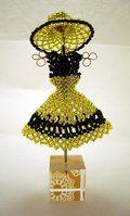 White Wedding BeadDress - Ruffles + Roses Edition by pinkythepink on deviantART