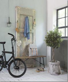 case e interni-recuperare vecchie porte - idee