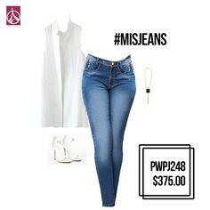 Un #Look #WhiteTotal siempre te hará ver guapísima. #Tips #Outfit #Moda #ParisJeans www.paris-jeans.com
