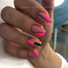 Likes, 6 Kommentare - Manicure / Nails / Master .- Likes, 6 Kommentare – Manicure / Nails / Master … – Unghiuțe – # Unghiuțe # Manicure # Master - Square Nail Designs, Short Nail Designs, Nail Art Designs, Nails Design, Design Design, Design Ideas, Cute Acrylic Nails, Matte Nails, My Nails
